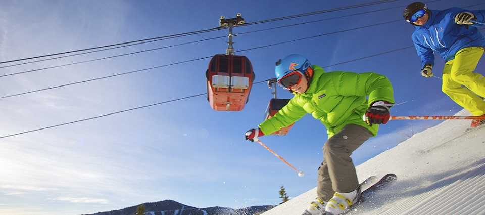 Park city ski resort USA family ski holidays childrens lessons